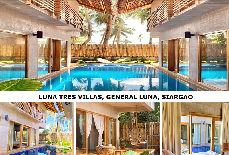 Luna Tres Villas: A definite nirvana in Siargao